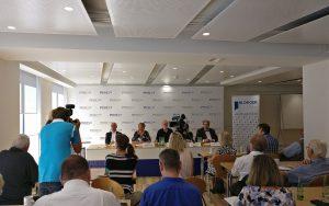 Pressekonferenz zur Eröffnung der neuen Räume (Bild: Franz Neumeier)