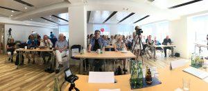 Der neue Veranstaltungsraum des Presseclub München (Bild: Matthias Lange)